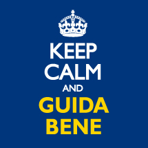 Keep Calm and Guida Bene