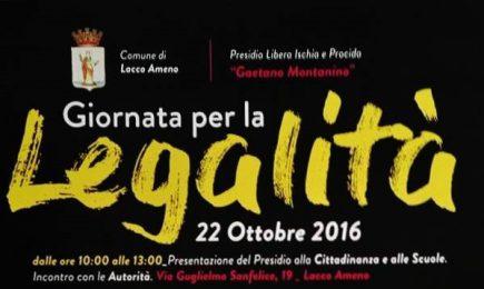 Lacco Ameno: sabato 22 ottobre presentazione del presìdio territoriale di Libera