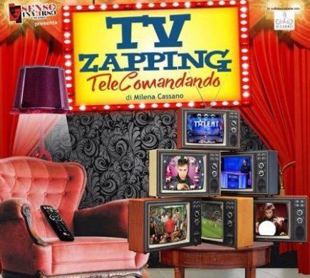 """Facciamo zapping? Domenica 9 ottobre presso il Museo del Termalismo di Ischia avrà luogo lo spettacolo teatrale """"TV ZAPPING"""""""