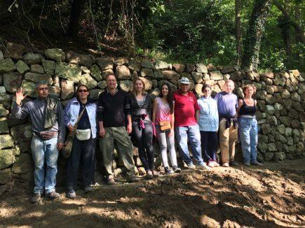 Si è concluso il II Workcamp sulle parracine e la settimana dedicata al 3° convegno sui paesaggi terrazzati
