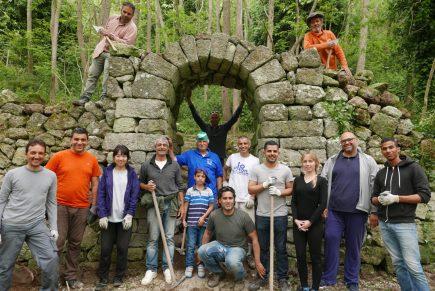 Inizia ad Ischia il II WorkCamp sulle tecniche di recupero dei muri a secco in difesa del paesaggio terrazzato rurale storico
