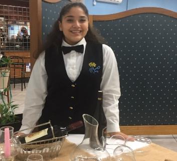 """L'alunna Malanie Saturnino dell'Istituto """"V. Telese"""" di Ischia selezionata per il corso triennale per Sommelier"""