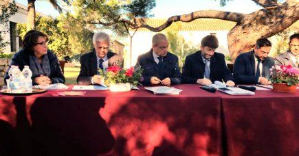 Isole, Franceschini firma il contratto di sviluppo per i beni culturali e il turismo